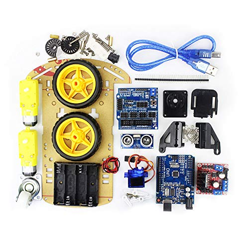 BeIilan Smart Car Tracking-Motor Smart-Roboter-Auto Chassis Kit 2 Radantrieb Toy Vehicle Assembly Kit