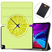 """MAITTAO Smart Cover for iPad Pro 12.9-inch Case 2020 4th Gen, Leather Folio Stand Protective Shell with Auto Sleep/Wake Compatible with Apple iPad 12.9"""" 2020 A2229 / A2233,Cute Fresh Creative 18"""