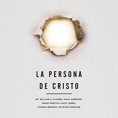 La persona de Cristo [The Person of Christ] cover art