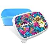 LolaPix Sandwichera Infantil. Regalos Personalizados. Caja merienda con Nombre. Apta para microondas y Libre de BPA, filatos y Metales Pesados. Varios diseños. Pet