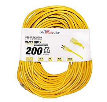 Best 200 ft extension cord Reviews