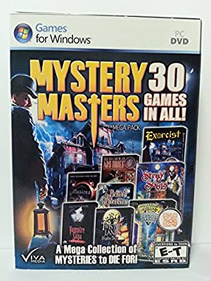 Mystery Masters Mega Pack 30 Games in All by Viva Media