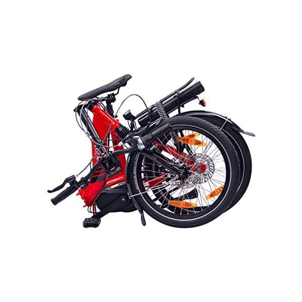 """51hz1vq fUL. SS600  - NCM Paris MAX N8R / N8C E-Bike, E-Faltrad, 250W, 36V 14Ah 504Wh Akku, 20"""" Zoll"""