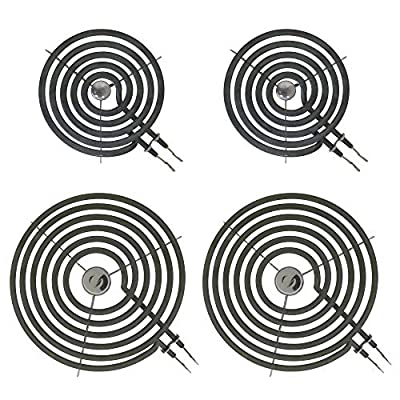Kitchen Basics 101: WB30M1 WB30M2 4 Piece Range Stove Top Surface Element Burner Kit Replacement for GE Hotpoint