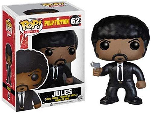 Mdcgok Funko Pop: Pulp Fiction - Figura de Vinilo Jules Collector Chibi