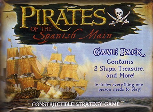 PIRATES of The Spanish Main Game Booster Pack CCG TCG by WizKids