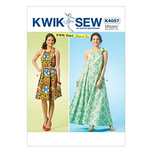KWIK-SEW PATTERNS englisches Schnittmuster KwikSew 4057 Hängerchen XS-XL