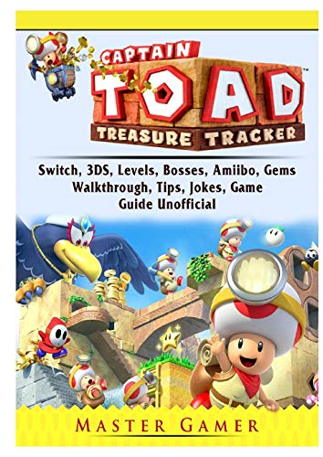 Gamer, M: Captain Toad Treasure Tracker, Switch, 3DS, Levels