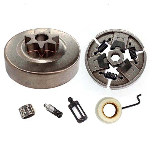 AISEN Ketten Kettenrad + Kupplung + Nadellager + Ölpumpe für Stihl 029 039 MS290 MS310 Kettensäge