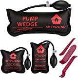 BITIWEND Air Shim , Air Wedge Bag Pump Professional Leveling Kit & Alignment Tool , 3 Piece Inflatable Shim Bag for All of Your Individual Needs, 500 LB Rating