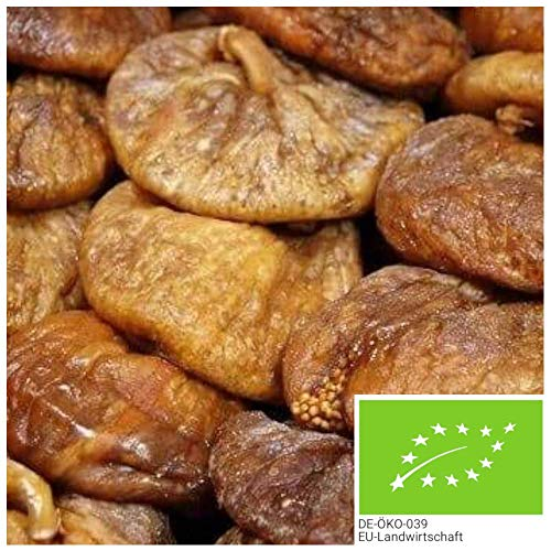 1kg getrocknete BIO Feigen ohne Zusätze, aus Spanien - NEUE ERNTE - naturbelassene Feigen in bester Bio-Qualität, als leckerer Energielieferant