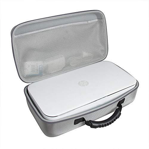 Hermitshell Étui de voyage pour imprimante HP Tango/Tango Terra/Tango X Smart Home 2RY54A/3DP64A gris