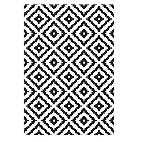 YNGH Jidan Suave excelente Alfombra Alfombra Alfombra Alfombra Alfombra Alfombra en Blanco y Negro Alfombra poliéster alfombras alfombras areor Alfombra casa Alfombra en casa Pastel Pastel Pas.