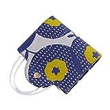 Lin Xin Caja de máscara Clip Tela Cara Cubierta de protección for Adultos Polvo Multiusos Bolsa Puede ser reutilizada Cubierta de la Cara Bolsa de Almacenamiento (Color : Blue Yellow)