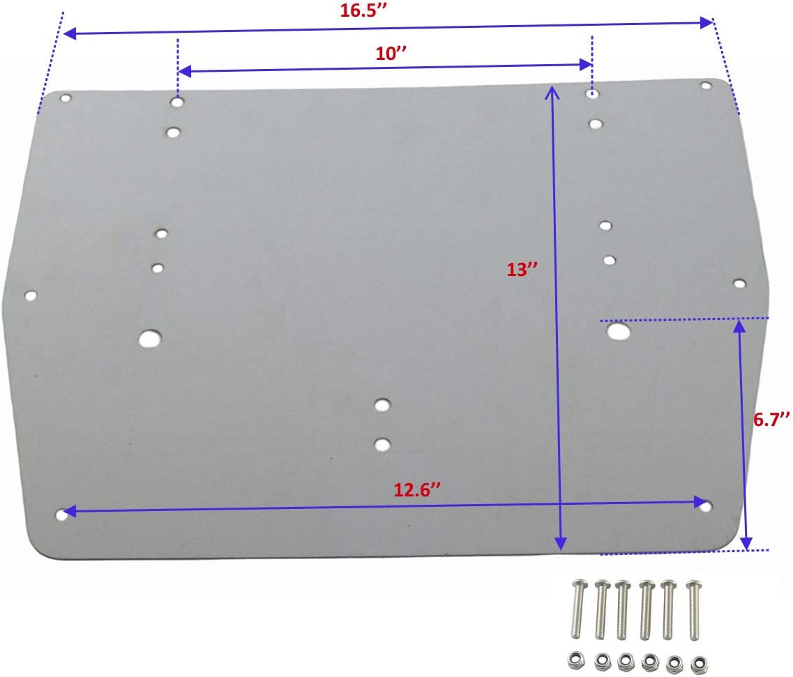 Luggage Trunk Ranking TOP10 Metal Reinforcement Base Plate Harle For 1993-2013 Special price for a limited time