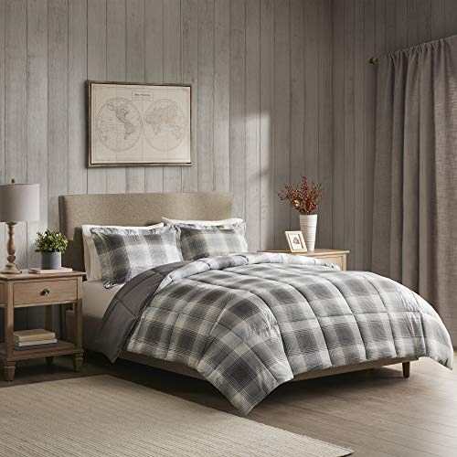 Woolrich Plaid Bed Comforter Set Ultra Soft Microfiber 3...