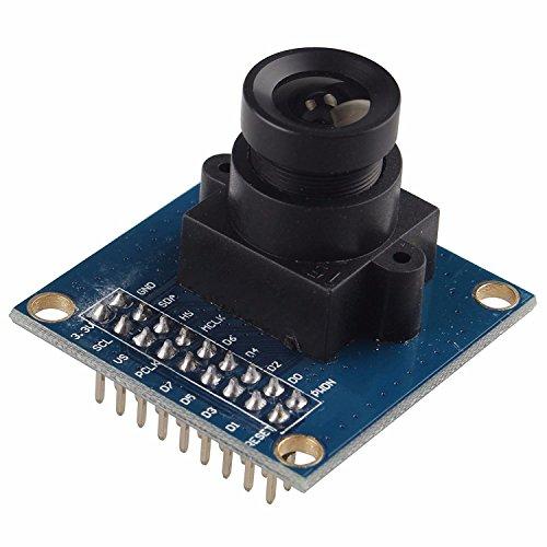 VGA-OV 7670 300 KP 0,3 Megapixel-CMOS-Sensor der Kamera Modul Objektiv CMOS 640X480 SCCB Kompatibel W/I2C-Schnittstelle für Arduino