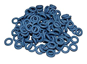 Captain O-Ring - Rubber Oring Keyboard Switch Dampeners Blue [40A-R 0.4mm] Reduction  135 pcs w/Screen Cloth