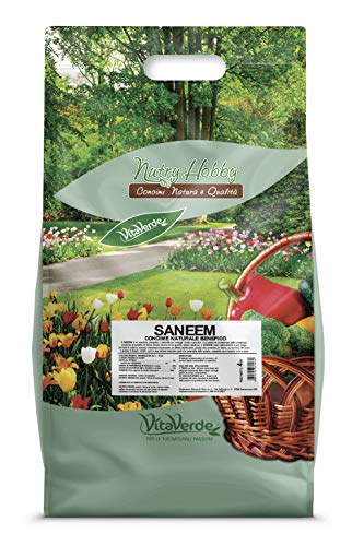 SANEEM, concime biologico sanificante per orto e frutta, kg 4, Vitaverde