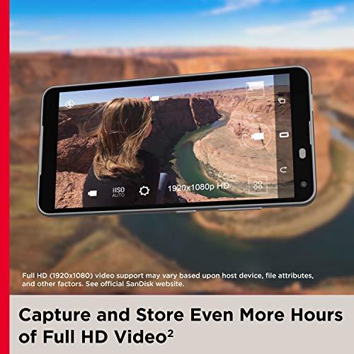SanDisk Ultra microSDXC UHS-I Speicherkarte 256 GB + Adapter (Für Android-Smartphones und - Tablets und MIL-Kameras, A1, C10, U1, 120 MB/s Übertragung)