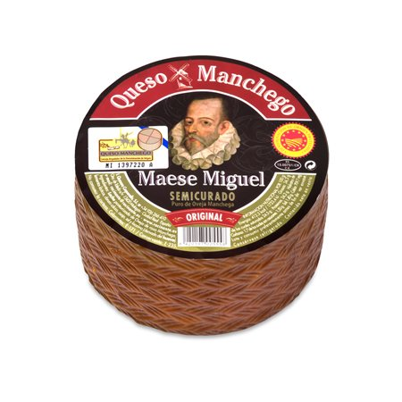 Manchego-Käse D.O. Semicurado MINI 500g