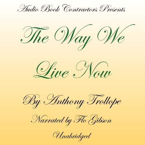 The Way We Live Now cover art