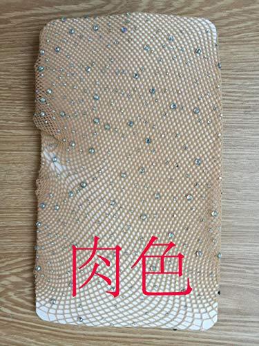 Fun-Unterwäsche Erotische Kostüme für Damen Sexy Strümpfe Sexy Strümpfe Hot Bohren Fischernetze sogar Füße Socken farbigen Diamanten Boden Strumpfhosen Fleisch BH-Code
