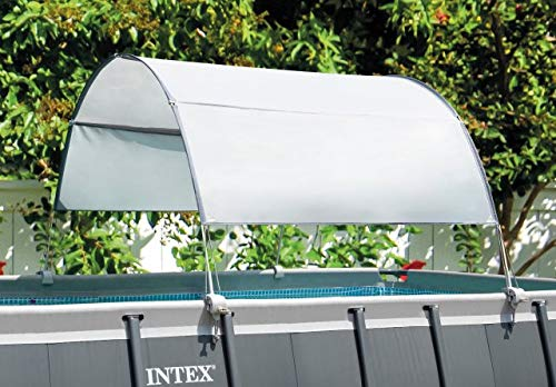 Intex Canopy for 9 FT and Smaller Pool Toldo Piscina Rectangular de 9 pies y más pequeña