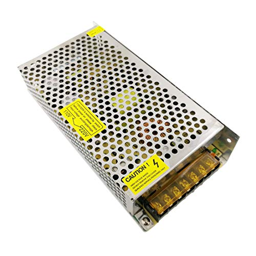 JOYLIT 120W Transformador de Voltage Alimentación de Interruptor AC 220V a 24V DC 5A Fuente de Alimentación para Tira de LED