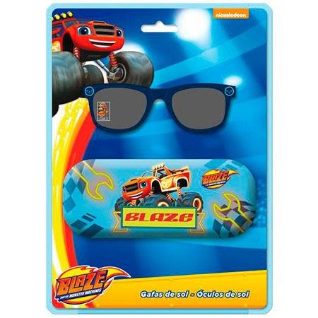 Blaze and the Monster Machines- Gafas de Sol, Funda metálica, Multicolor (Astro Europa AST4073)