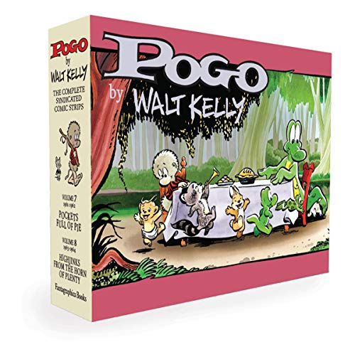 Pogo The Complete Syndicated Comic Strips Box Set: Vols. 7 &...