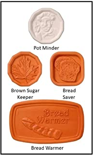 Brown Sugar Keeper, Bread Saver, Pot Minder, Bread Warmer Assorted Cook's Helper Collection by Furnish My Homestead – The Perfect Hostess Gift or Party Favors for Lunch or Afternoon Tea Guests.
