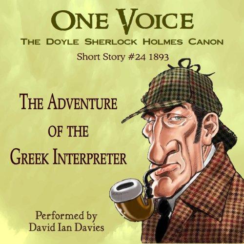 The Adventure of the Greek Interpreter audiobook cover art