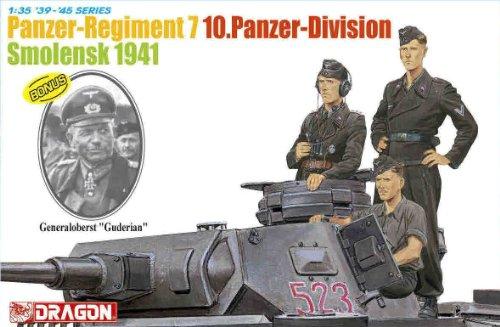 Dragon 500776655 – Char de Régiment 7 10 panzerdivision 1 : 35