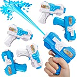 D-FantiX Water Gun 6 Pack, Small Water Blaster Soaker Squirt Guns Bulk for Water Fighting Summer Pool Beach Party Favors...