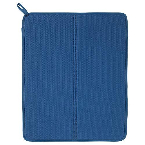 ergy Ikea Plastic Dish Drying Mat (Blue, 44x36 Cm)