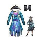 Shihong-G Descendants 3 Disfraz Mal Cosplay Disfraz Halloween Audrey Mal Evie Carlos Jay Celia...