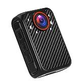 BOBLOV X1 Mini Cámara de Cuerpo Cámara de Policía Full 1080p Portátil Tarjeta SD extraíble hasta 128 GB Visión Nocturna