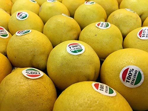 Cassetta Limoni 20 Kg Prima Scelta Azienda Agricola Miceli Spedizione Gratuita
