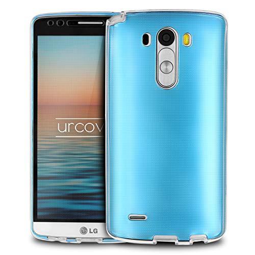 Urcover® LG G3 | Funda Carcasa 360 Grados Ultra Slim Metálico | TPU en Azul | Case Cover Protección Completa Smartphone Móvil Accesorio