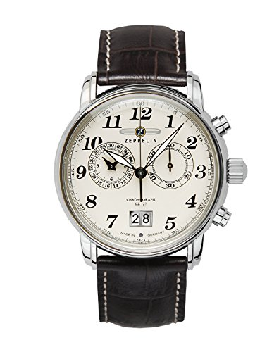 Zeppelin Series LZ127 Graf Zeppelin Men's Chrono Date Analog Watch 7684-5