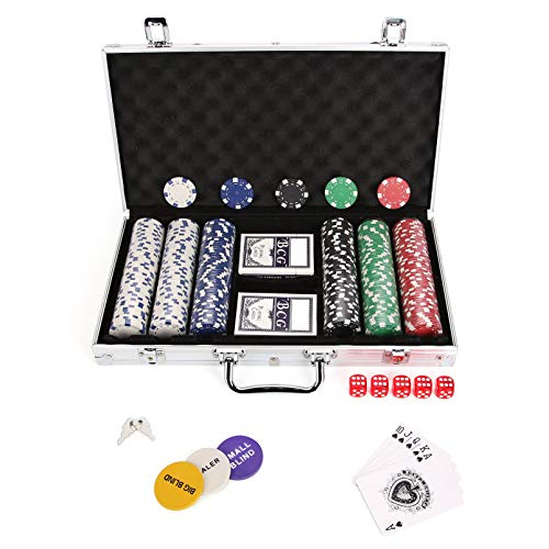 AllRight Poker Chips Set Game Po...
