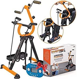 Mixen Gym Master Workout Portable Home Gym-Perfect for Body Building Workouts Equipment for Home Stepper   Leg Stretcher for Home Gym