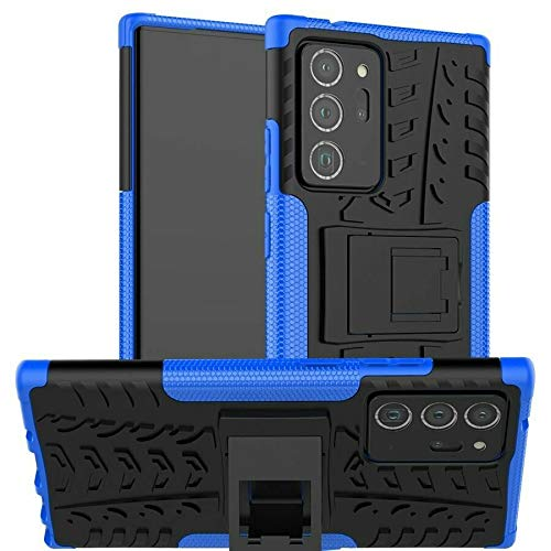 Prime Retail Poly Carbonate Back Cover for Samsung Galaxy Note 20 Ultra - Blue