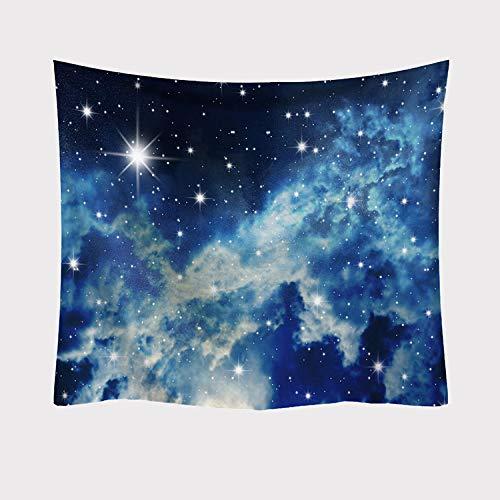 asdas Wandteppich, Sternenhimmel, 3D-Druck, psychedelischer Weltraum, riesiger Milchstraße, Nachthimmel, Polyester, Dekoration, Picknick, Schlafsaal, Wohnzimmer, Schlafzimmer, Arbeitszimmer, Fenster