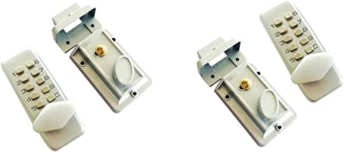 Baoblaze 2x Digitale Mechanische Sleutel Slot Keyless Deurslot Smart Home Entry Lock