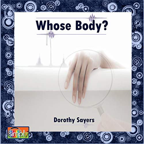 Whose Body?  By  cover art
