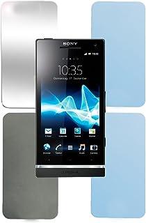 Cadorabo - 4 x skärmskydd paket HQ för > Sony Xperia S < (paket: Matt/integritet/spegel/anti-bländning)