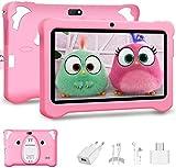 Android 10.0 Tablet para Niños, 7 Pulgadas IPS Pantalla 3GB RAM y 32GB ROM y 128GB Expansión...
