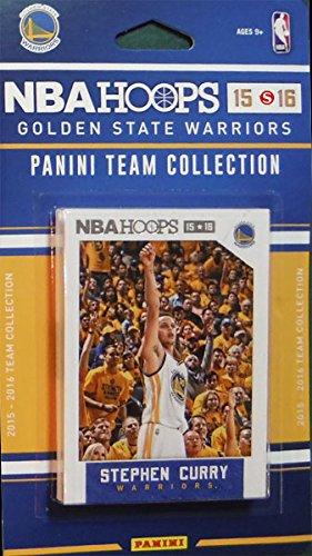 Golden State Warriors 2015 2016 Band-Basketball-Fabrik versiegelt 10-Karte NBA lizenzierte Team-Set mit Stephen Curry Plus